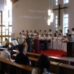 聖歌隊の美しいハーモニー