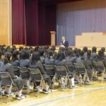 入学式の練習(中1)